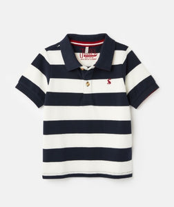 Filbert Stripe Polo Shirt - Navy Stripe