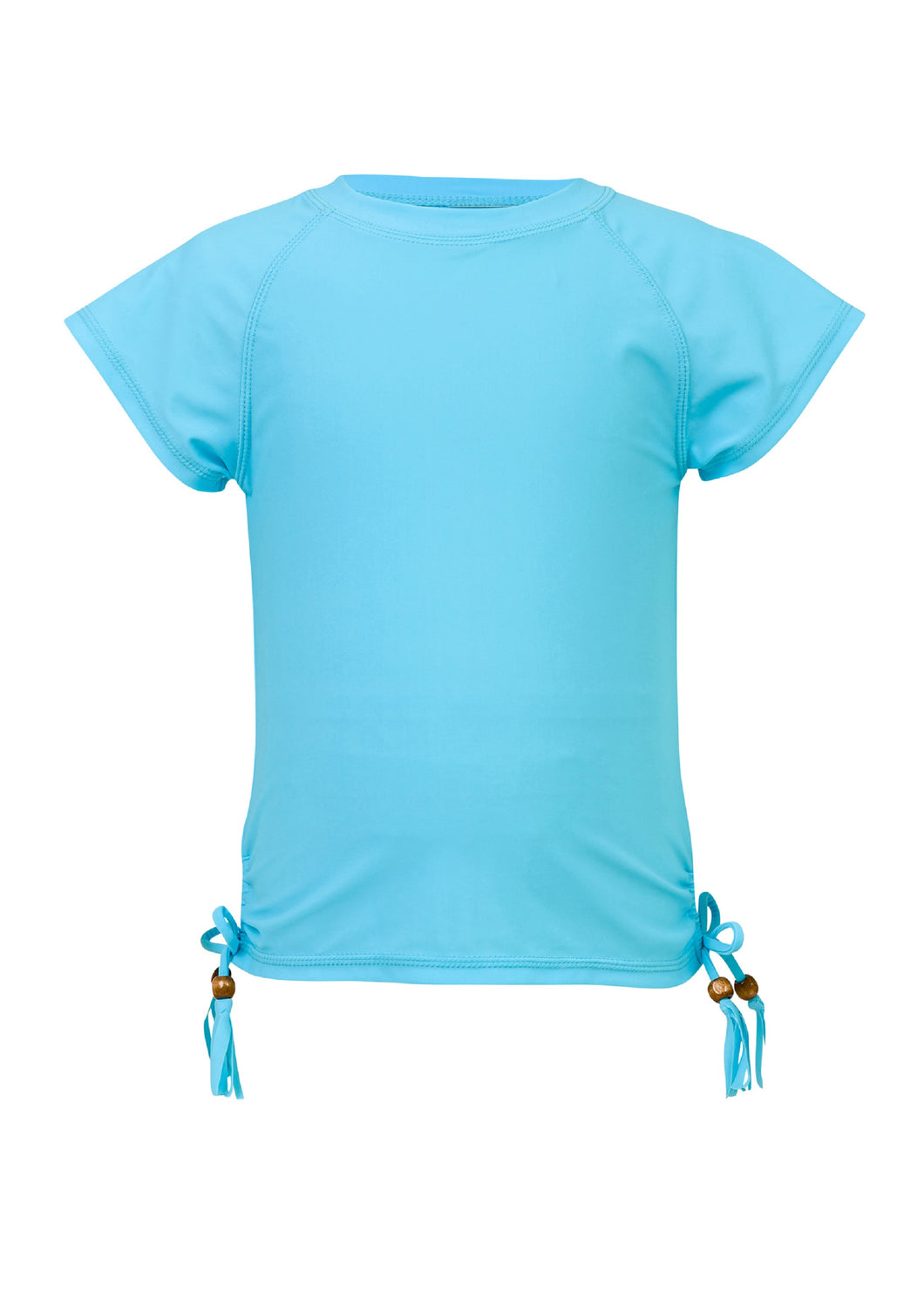 Light Blue SS Rash Top