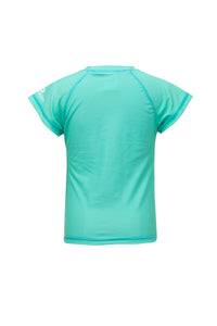 Mint SS Rash Top