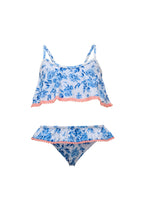 Load image into Gallery viewer, Cottage Floral Flounce Bikini