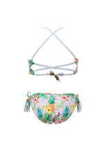 Load image into Gallery viewer, Tropicana X Back Tie Bikini