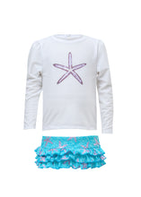 Load image into Gallery viewer, Ocean Star LS Ruffle Set