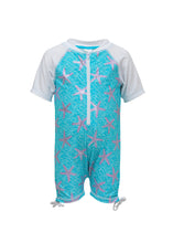Load image into Gallery viewer, Ocean Star SS Sunsuit