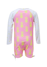 Load image into Gallery viewer, Pineapple Spot LS Sunsuit