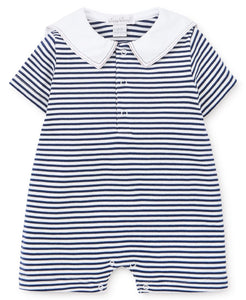 Summer Sails Short Stripe Playsuit