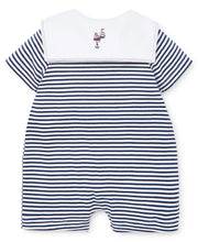 Load image into Gallery viewer, Summer Sails Short Stripe Playsuit