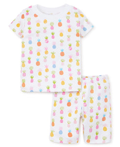 Pineapples Short Pajama Set
