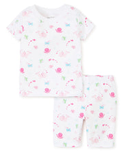 Load image into Gallery viewer, Under the Sea Short Pajama Set Fuchsia