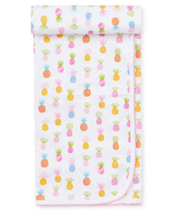 Pineapples Print Blanket