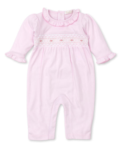 CLB Fall 21 Playsuit w/ Hand Smk - Pink