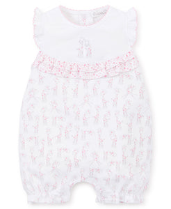 Giraffe Short Playsuit Mix - Pink
