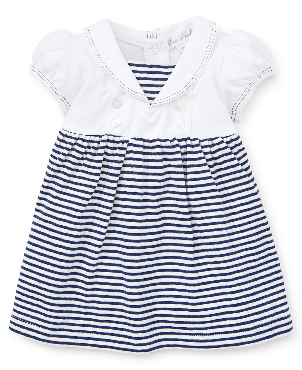 Summer Sails Stripe Dress Set