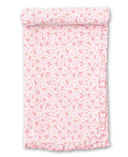 Load image into Gallery viewer, Dusty Rose Blanket  - Pink Print