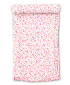 Dusty Rose Blanket  - Pink Print