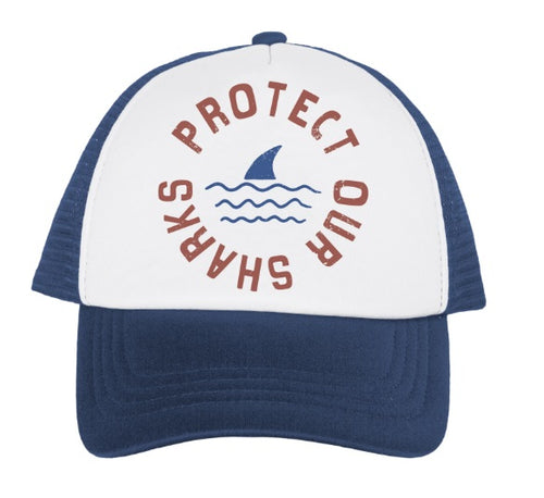 Protect Our Sharks Hat - Navy
