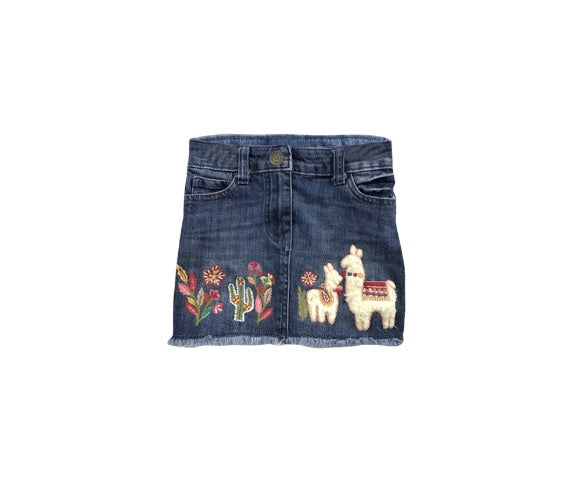 Peru Denim Skirt