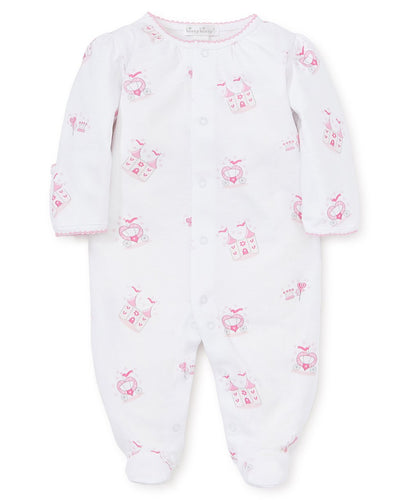 Princess Castle Print Footie