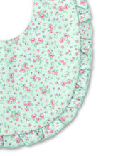 Load image into Gallery viewer, Dusty Rose Bib - Mint Print