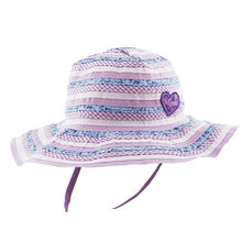 Load image into Gallery viewer, Baby Girls Floppy Hat - Sweetheart Lilac