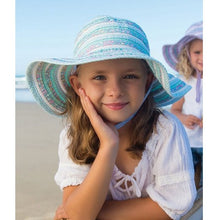 Load image into Gallery viewer, Baby Girls Floppy Hat - Sweetheart Mint
