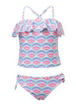 Load image into Gallery viewer, Tutti Frutti Frilled Tankini