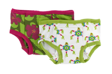 Load image into Gallery viewer, Training Pants Set of 2 - Pesto Hibiscus & Natural Piñata
