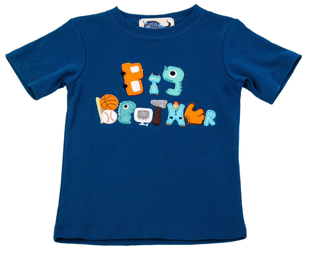 Big Brother Tee Mynokos Blue