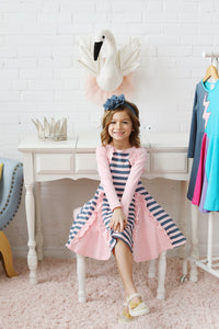 Bolero Stripe Dress