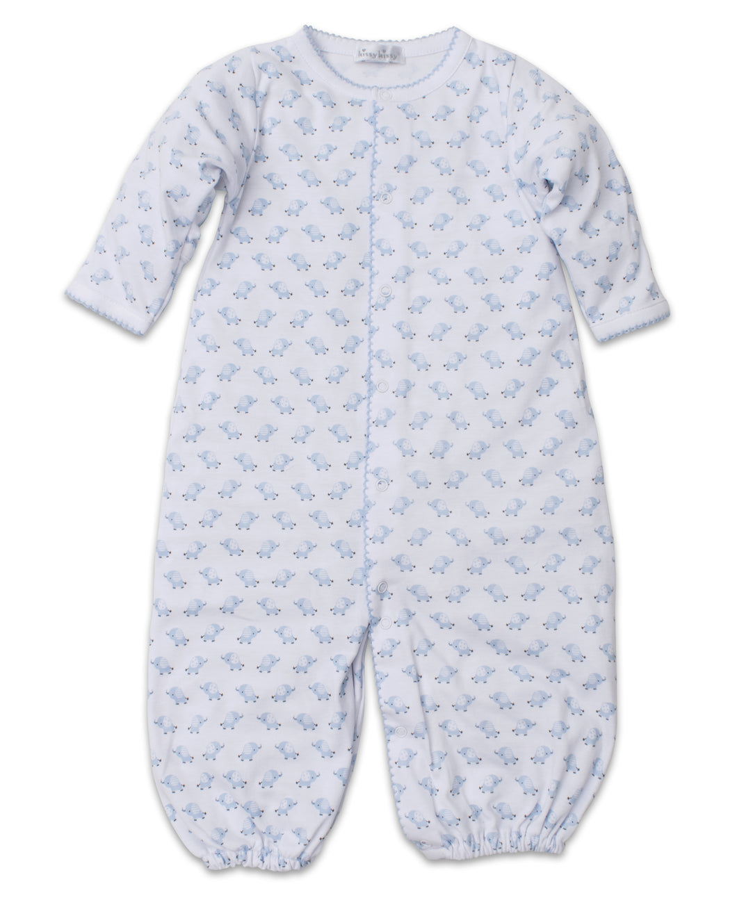 Baby Trunks Converter Gown - Light Blue