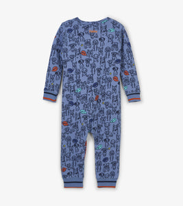 Puppy Pals Organic Cotton Coverall