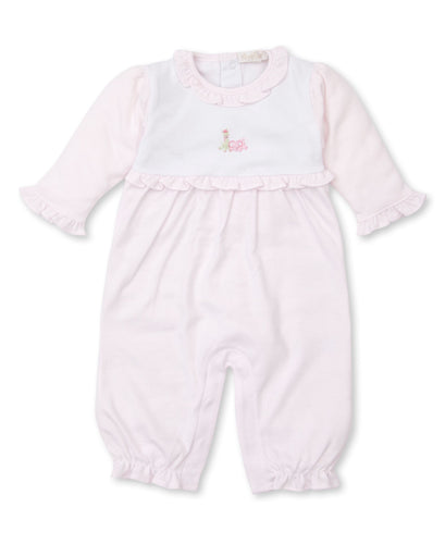 SCE Jolly Jungle Playsuit w/ HE STR - Pink/White