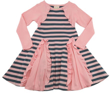 Load image into Gallery viewer, Bolero Stripe Dress