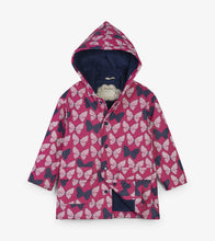 Load image into Gallery viewer, Spotted Butterflies Colour Changing Raincoat