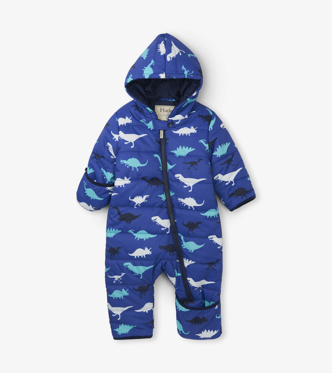 Dino Herd Baby Winter Bundler