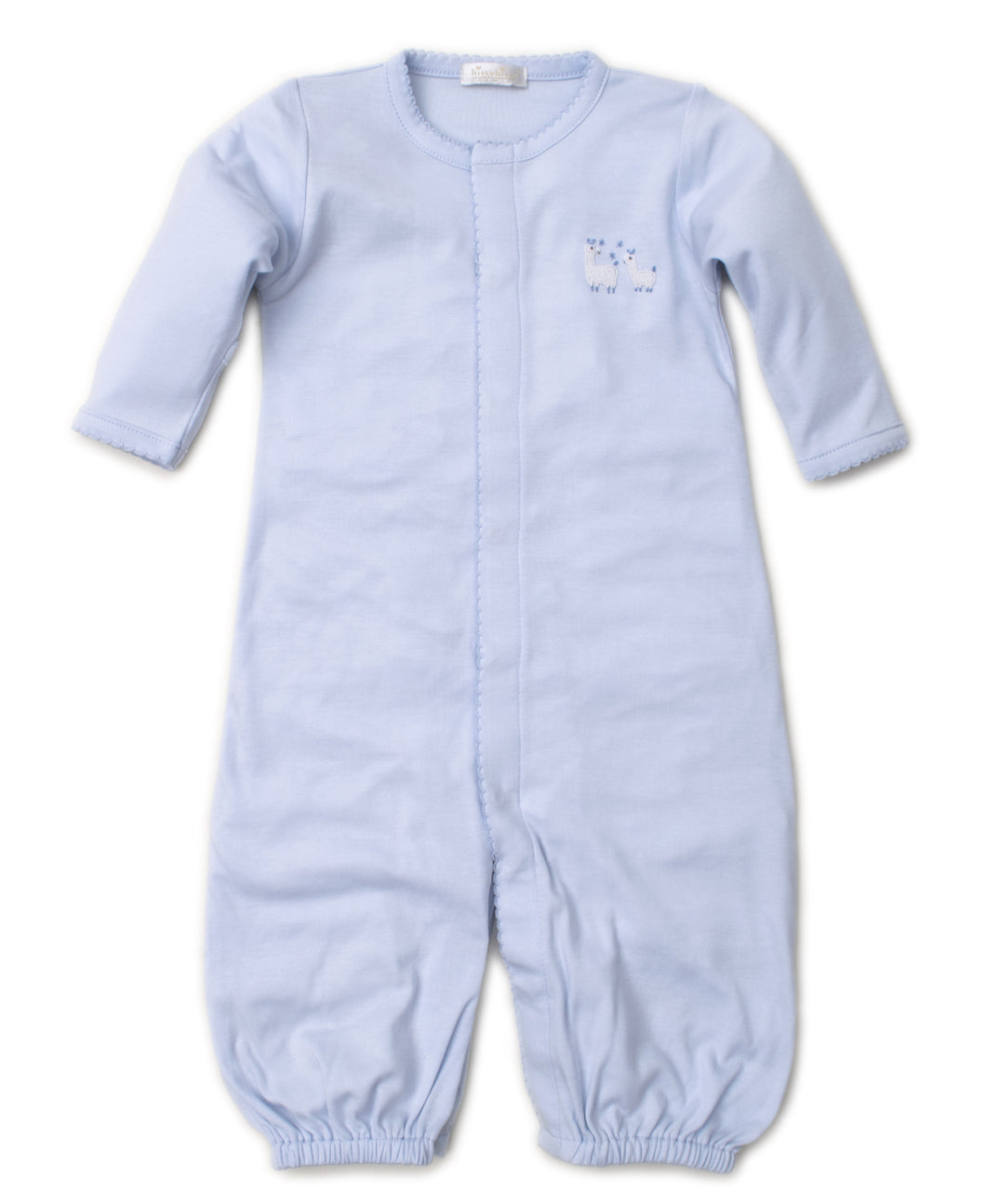 Premier Llama Family Converter Gown with Hand Emb - Light Blue