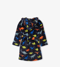 Load image into Gallery viewer, Dino herd Fleece Robe