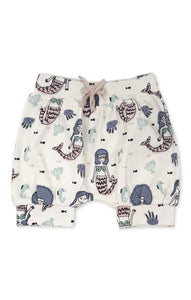 Mermaid Print Bloomer Shorts