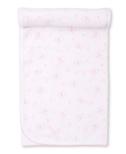 Bearly Believable Blanket PRT - Pink