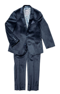 2-pc Mod Suit - Peacoat Velvet