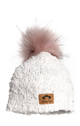 Boucle Hat - Winter White