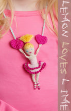 Load image into Gallery viewer, Blonde Ballerina Necklace