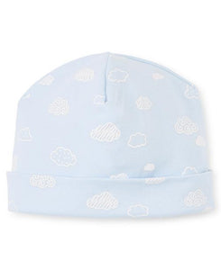 Cotton Clouds Infant Hat Blue