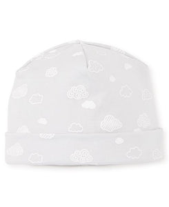 Cotton Clouds Infant Hat Silver