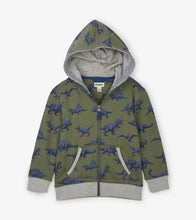 Load image into Gallery viewer, Dino Herd Full Zip Hoodie