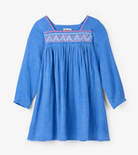 Load image into Gallery viewer, Sea Blue Beach Dress