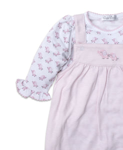 Baby Trunks Overall Set Mix - Pink