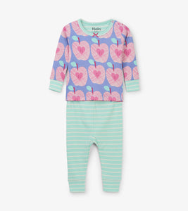 Apple Orchard Organic Cotton Baby Pajama