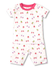 Load image into Gallery viewer, Berry Ballet Short PJ Set Snug - Fuchsia Print