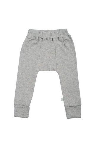 Organic Grey Harem Pants