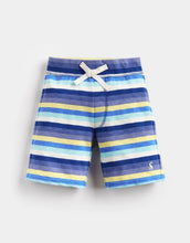 Load image into Gallery viewer, Buccaneer Jersey Short Blue/Yellow Stripe